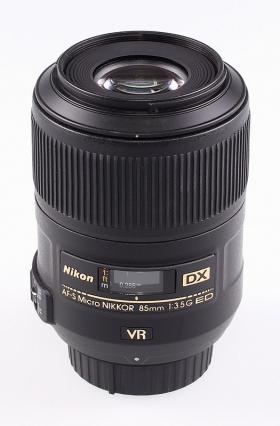 AF-S DX Micro-Nikkor 85mm F3.5G ED VR