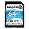 "Kingston Secure Digital Card 64GB SDXC Class 10 UHS-I U3 V30 ""Canvas Go Plus"""